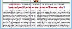 Article de Maître Anne-Lise BERNARDI dans Tribune de LYON du 30 mars 2017